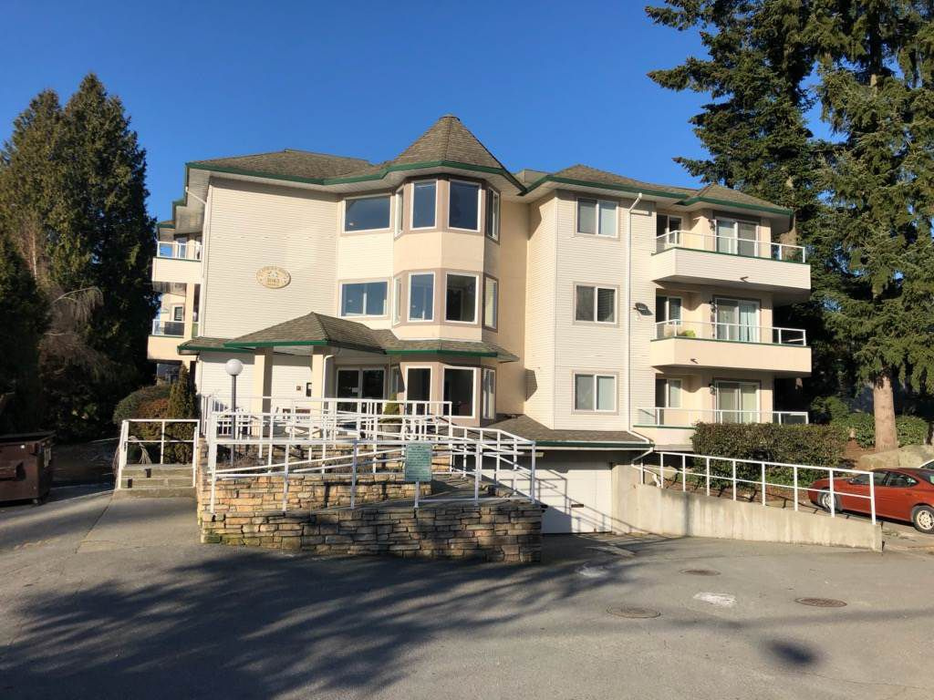 "Main Photo: 105 3063 IMMEL Street in Abbotsford: Central Abbotsford Condo for sale in ""Clayburn Village"" : MLS®# R2345984"
