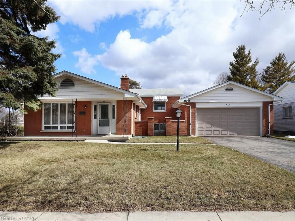Main Photo: 548 HUNTINGDON Drive in London: South R Residential for sale (South)  : MLS®# 182338