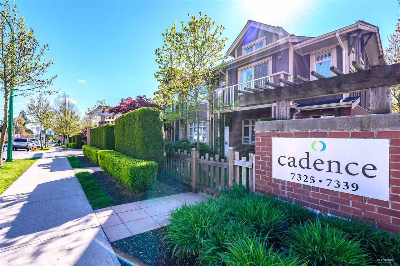 """Main Photo: 101 7339 MACPHERSON Avenue in Burnaby: Metrotown Condo for sale in """"CADENCE"""" (Burnaby South)  : MLS®# R2361139"""