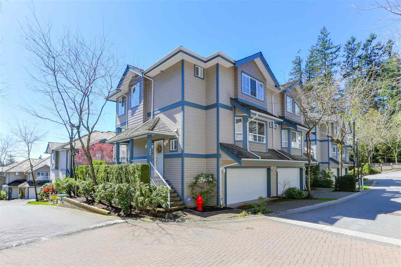 "Main Photo: 12 241 PARKSIDE Drive in Port Moody: Heritage Mountain Townhouse for sale in ""PINEHURST"" : MLS®# R2361152"