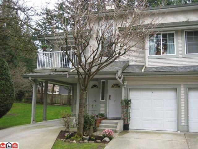 "Main Photo: 77 8892 208TH Street in Langley: Walnut Grove Townhouse for sale in ""Hunter's Run"" : MLS®# F1109249"