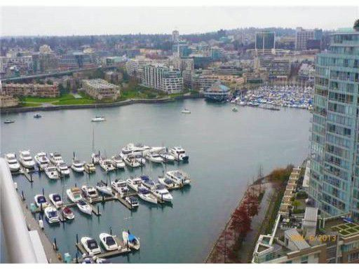 Main Photo: # 2607 1199 MARINASIDE CR in Vancouver: Yaletown Condo for sale (Vancouver West)  : MLS®# V1010569