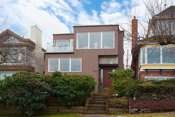 Main Photo: 3738 W 13TH AV in Vancouver: Point Grey House for sale (Vancouver West)  : MLS®# V1050679