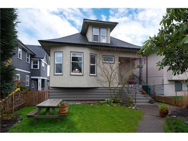 """Main Photo: 1362 E 13TH Avenue in Vancouver: Grandview VE House for sale in """"GRANDVIEW"""" (Vancouver East)  : MLS®# V1057338"""