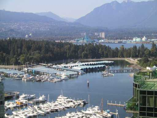 Main Photo: # 2803 1328 W PENDER ST in Vancouver: Coal Harbour Condo for sale (Vancouver West)  : MLS®# V862309