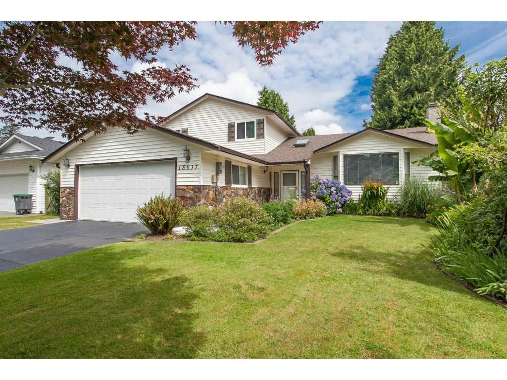 Main Photo: 15037 91A Avenue in Surrey: Fleetwood Tynehead House for sale : MLS®# R2083544
