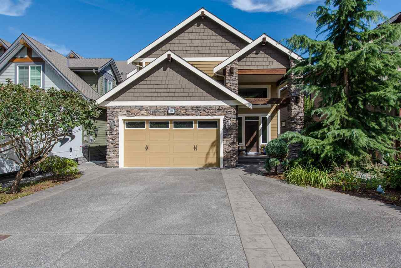 "Main Photo: 113 45473 ARIEL Place in Chilliwack: Cultus Lake House for sale in ""Riverstone Heights"" : MLS®# R2107357"