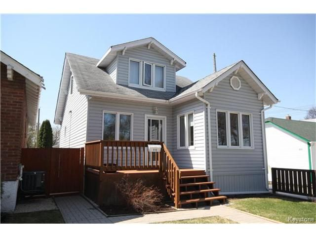 Main Photo: 512 Anderson Avenue in Winnipeg: Sinclair Park Residential for sale (4C)  : MLS®# 1711105