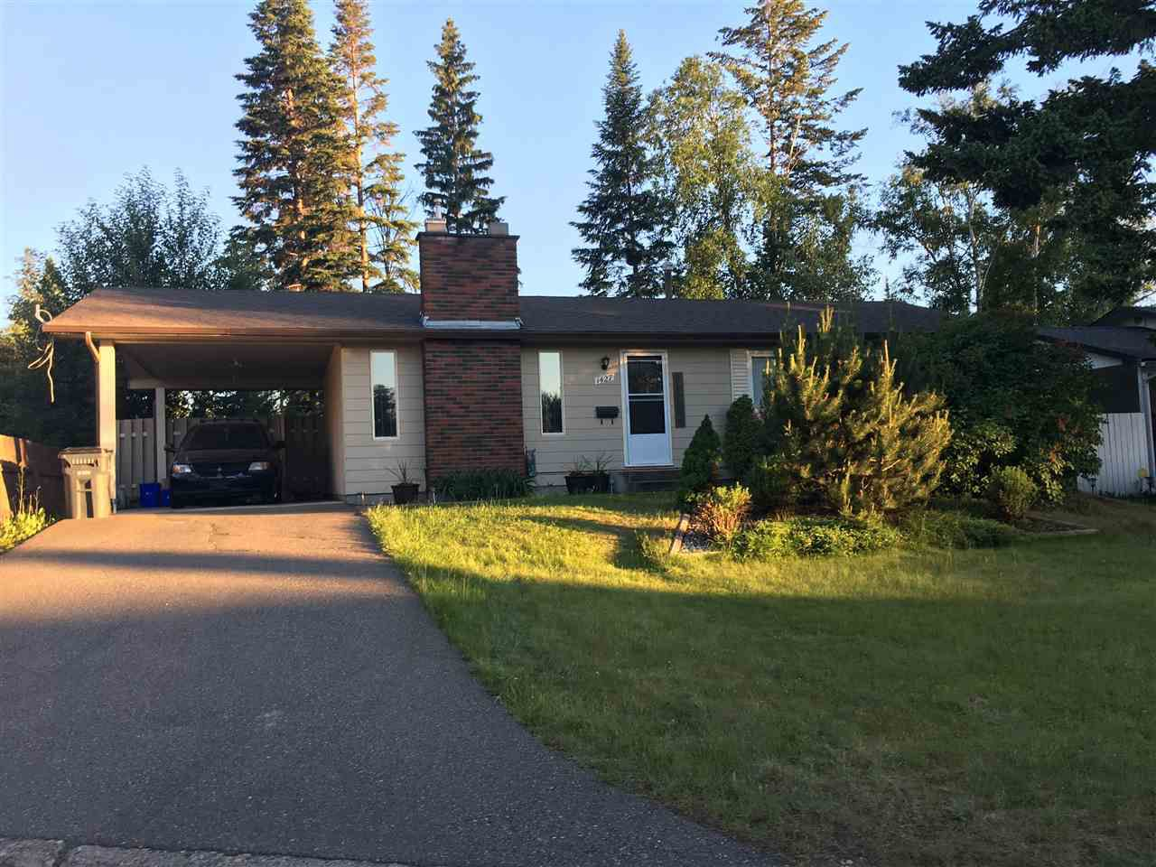 Main Photo: 1427 WARNER Avenue in Prince George: Fraserview House for sale (PG City West (Zone 71))  : MLS®# R2181742