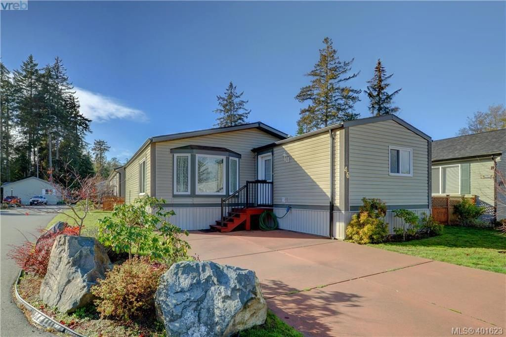 Main Photo: 46 7109 West Coast Road in SOOKE: Sk Whiffin Spit Manu Double-Wide for sale (Sooke)  : MLS®# 401623