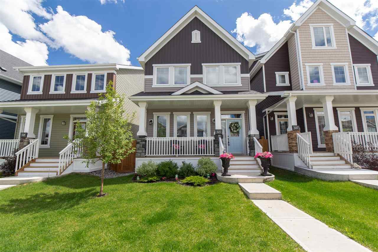 Photo 1: Photos: 1523 167 Street in Edmonton: Zone 56 House for sale : MLS®# E4154346