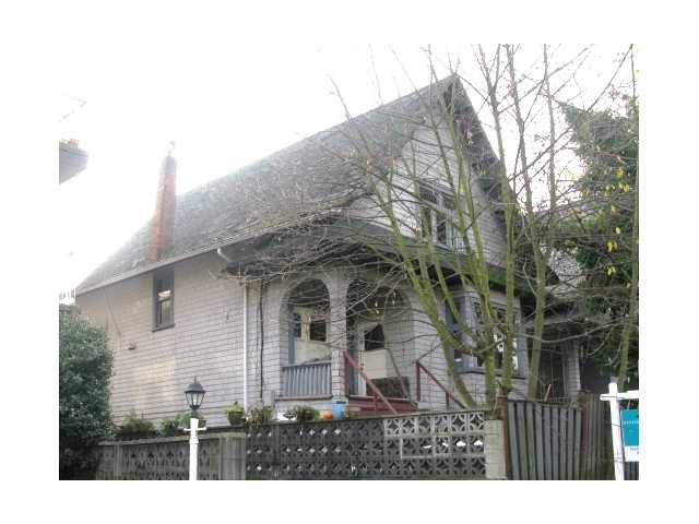 Main Photo: 2284 W 8TH Avenue in Vancouver: Kitsilano House for sale (Vancouver West)  : MLS®# V920785