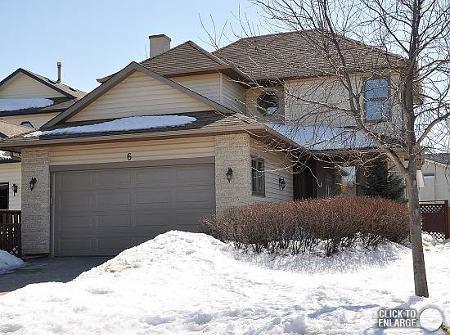 Main Photo: 6 HARRADENCE CL in Winnipeg: Residential for sale (Whyte Ridge)  : MLS®# 1104846