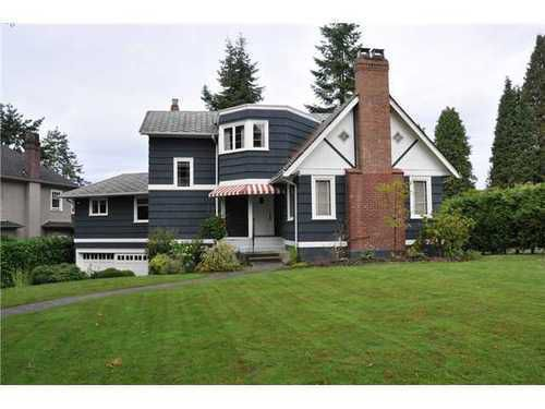 Main Photo: 4117 CYPRESS Crescent in Vancouver West: Quilchena Home for sale ()  : MLS®# V851333