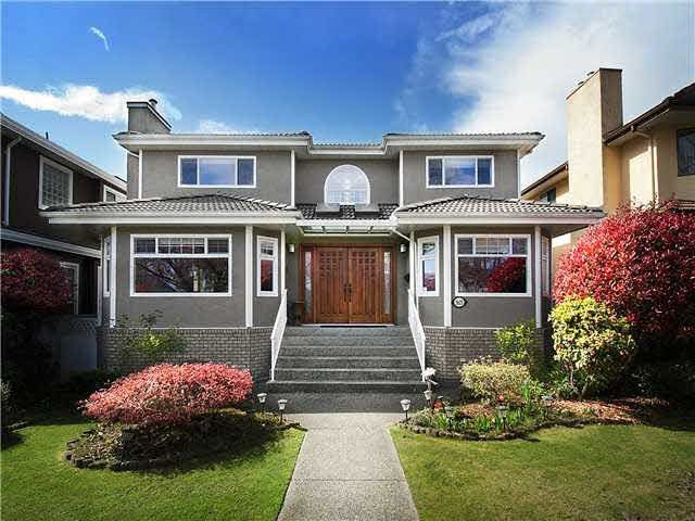 Main Photo: 5625 COLUMBIA Street in Vancouver: Cambie House for sale (Vancouver West)  : MLS®# V1133361
