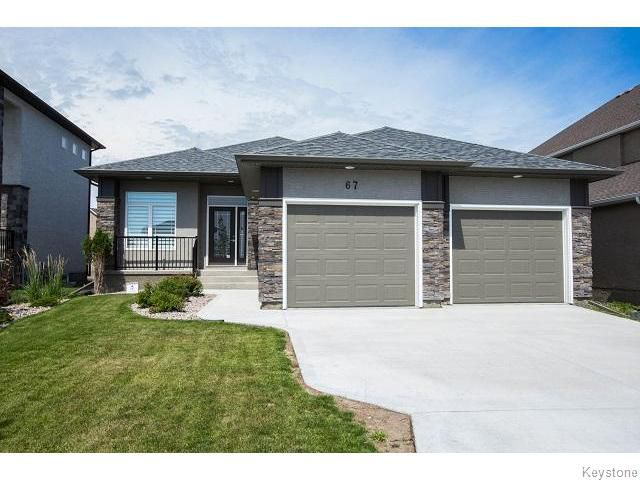 Main Photo: 67 Northern Lights Drive in WINNIPEG: Fort Garry / Whyte Ridge / St Norbert Residential for sale (South Winnipeg)  : MLS®# 1520364