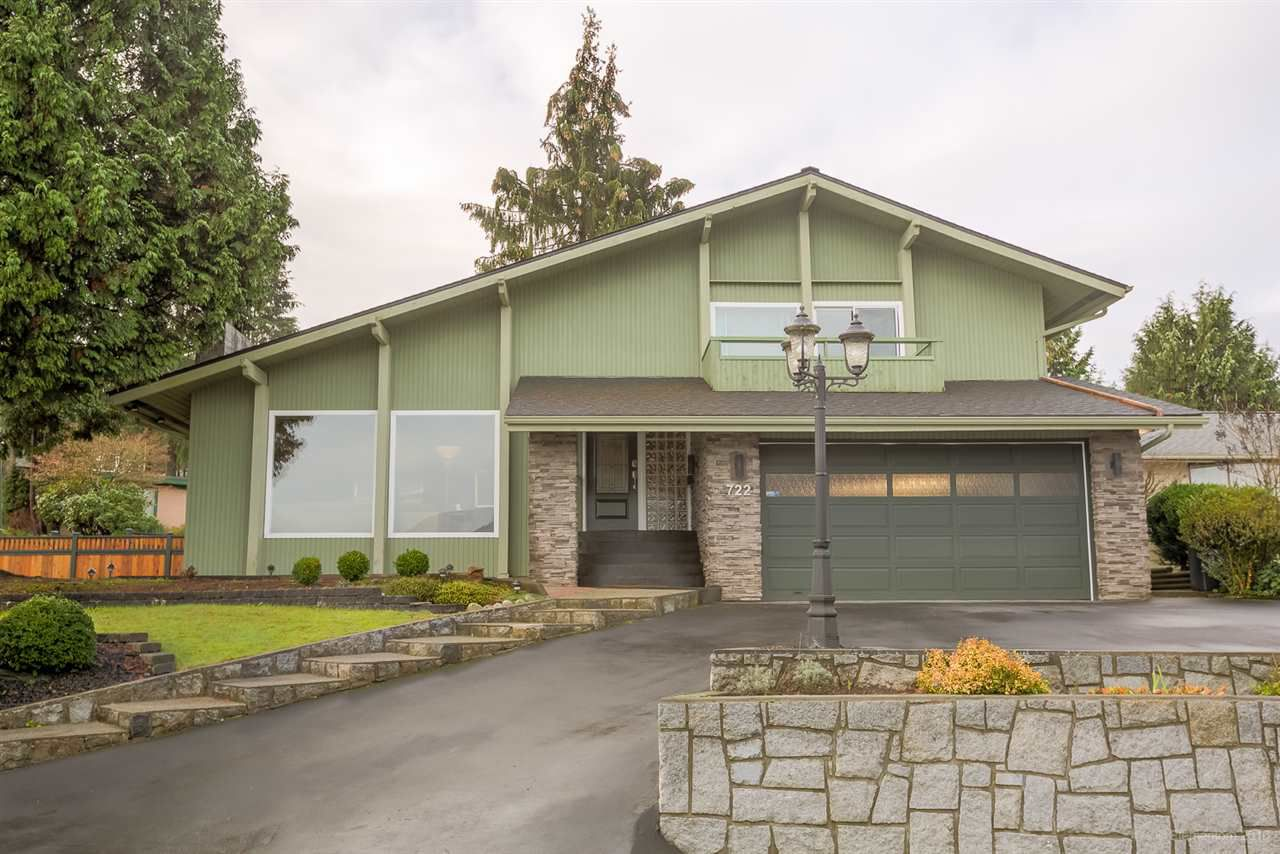 Main Photo: 722 CARLETON Drive in Port Moody: College Park PM House for sale : MLS®# R2126821
