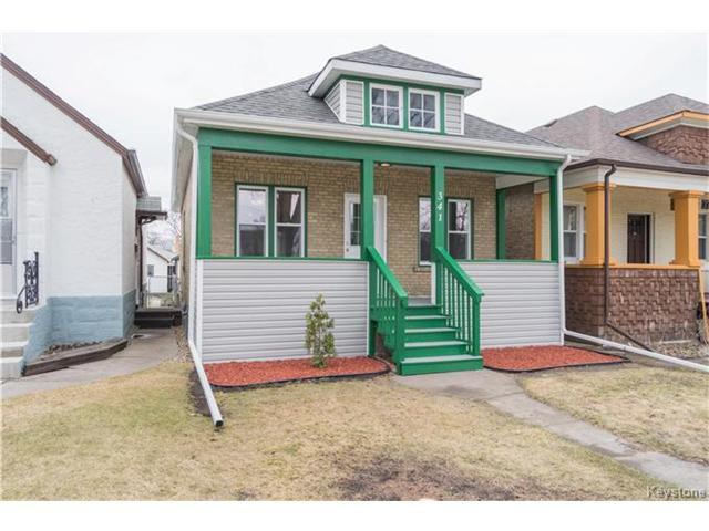 Main Photo: 341 Lansdowne Avenue in Winnipeg: West Kildonan Residential for sale (4D)  : MLS®# 1708750