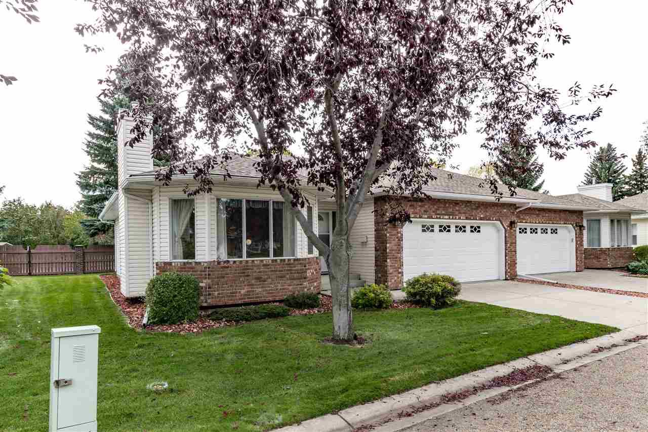 Main Photo: 9 320 Jim Common Drive: Sherwood Park House Half Duplex for sale : MLS®# E4130333