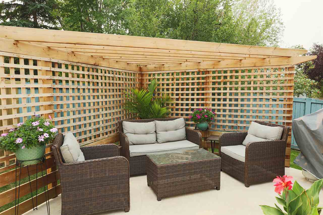 Privacy and Relaxation - something to look forward to enjoying in the summertime!