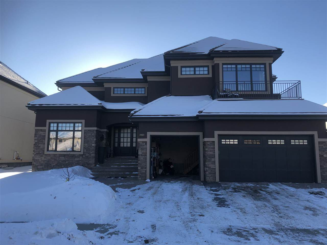Main Photo: 2457 Cameron Ravine Dr in Edmonton: Zone 20 House for sale : MLS®# E4144971