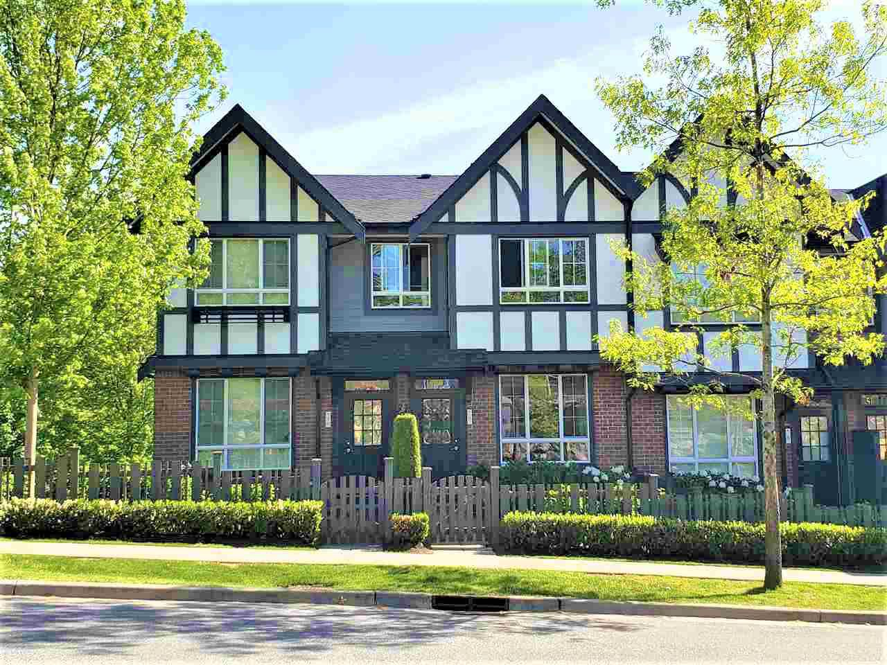 """Main Photo: 9 1338 HAMES Crescent in Coquitlam: Burke Mountain Townhouse for sale in """"FARRINGTON Park"""" : MLS®# R2366630"""