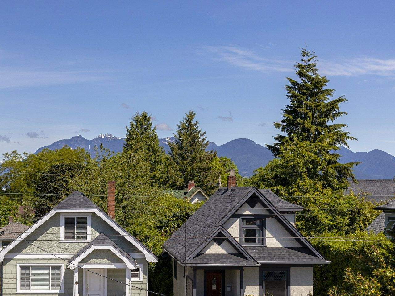 View of Mountains from Master Bedroom