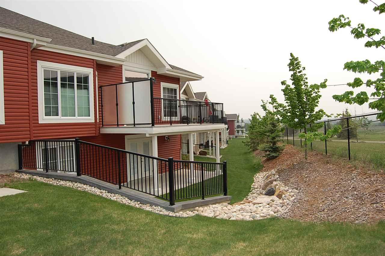 Main Photo: 8 88 LACOMBE Drive: St. Albert House Half Duplex for sale : MLS®# E4159730