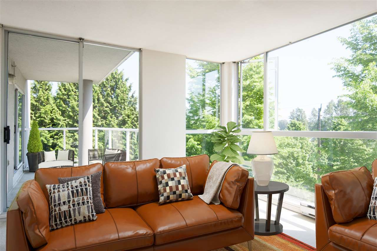 """Main Photo: 305 8450 JELLICOE Street in Vancouver: South Marine Condo for sale in """"BOARDWALK"""" (Vancouver East)  : MLS®# R2376559"""