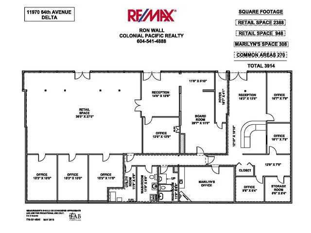 Main Photo: 11970 64TH Avenue in Surrey: Sunshine Hills Woods Commercial for lease (N. Delta)  : MLS®# F3402341