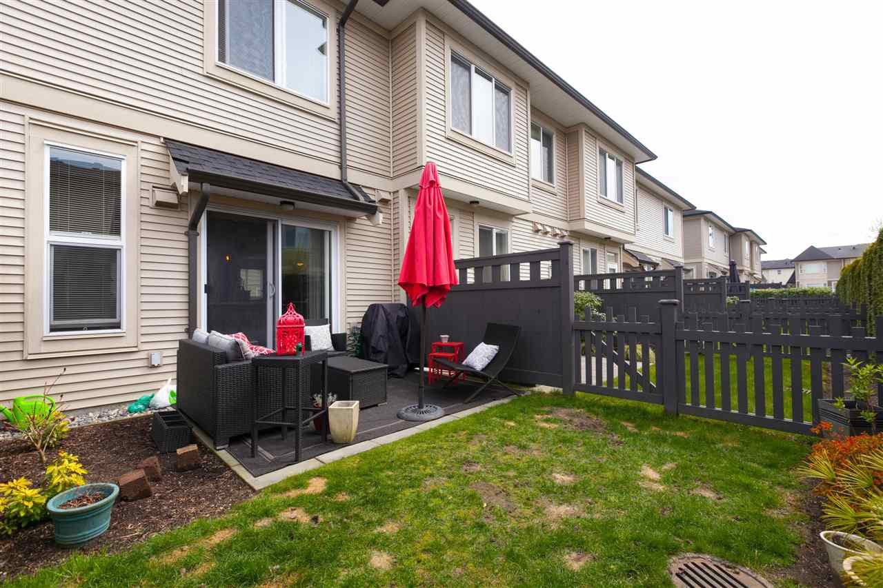 """Photo 63: Photos: 97 7938 209 Street in Langley: Willoughby Heights Townhouse for sale in """"Red Maple Park"""" : MLS®# R2260950"""