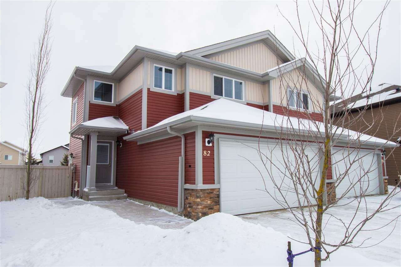 Main Photo: 82 Willows End: Stony Plain House Half Duplex for sale : MLS®# E4142452