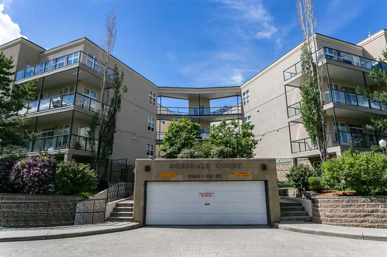 Main Photo: 216 9804 101 Street in Edmonton: Zone 12 Condo for sale : MLS®# E4161552