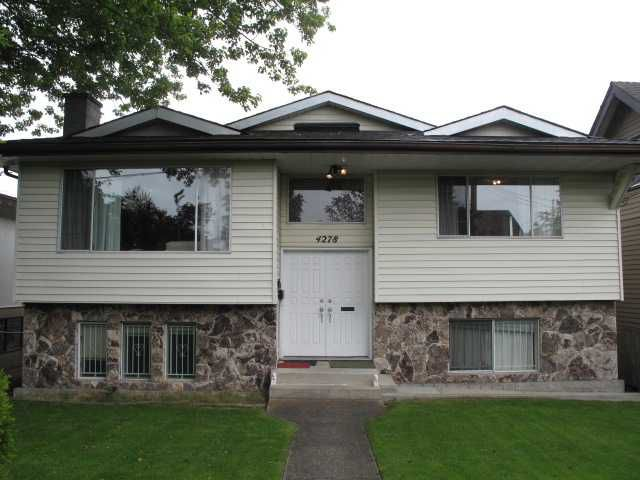 Main Photo: 4278 DUMFRIES Street in Vancouver: Knight House for sale (Vancouver East)  : MLS®# V910458
