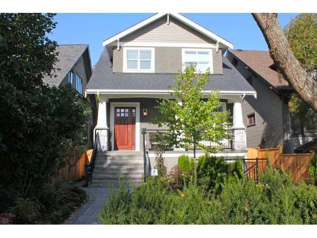 Main Photo: 3649 W 1ST AV in Vancouver: Kitsilano House 1/2 Duplex for sale (Vancouver West)  : MLS®# V935243