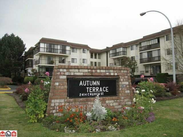 "Main Photo: 310 2414 CHURCH Street in Abbotsford: Abbotsford West Condo for sale in ""AUTUMN TERRACE"" : MLS®# R2159048"