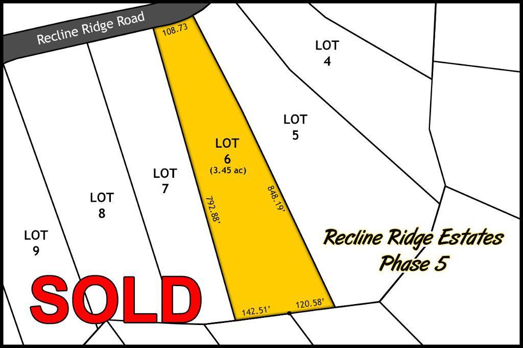 Recline Ridge Estates Phase V - Lot 6