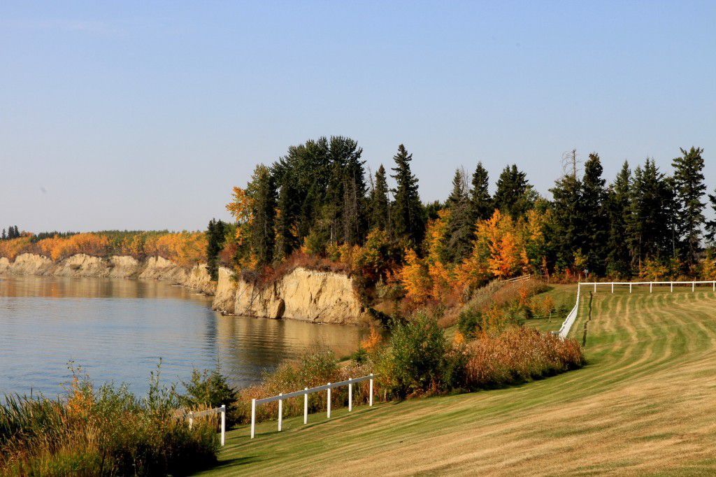 Main Photo: Central Alberta lake front lot for sale