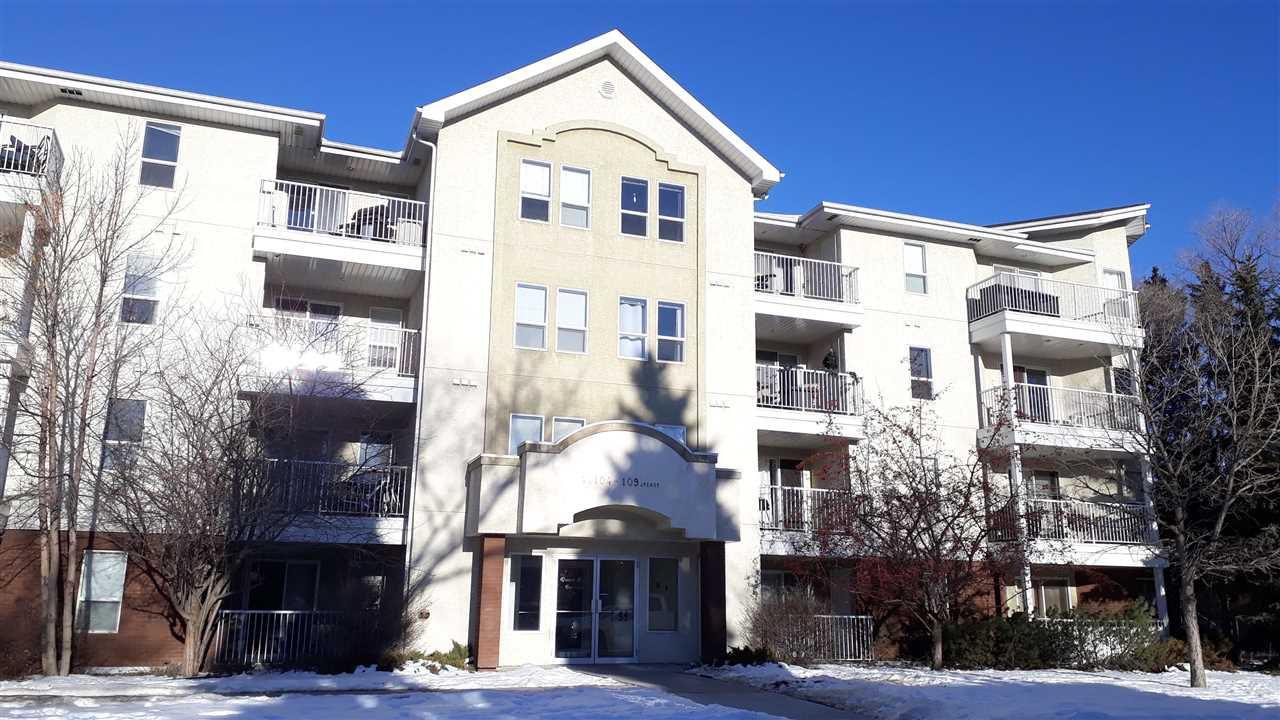 Main Photo: 206 11104 109 Avenue in Edmonton: Zone 08 Condo for sale : MLS®# E4139263