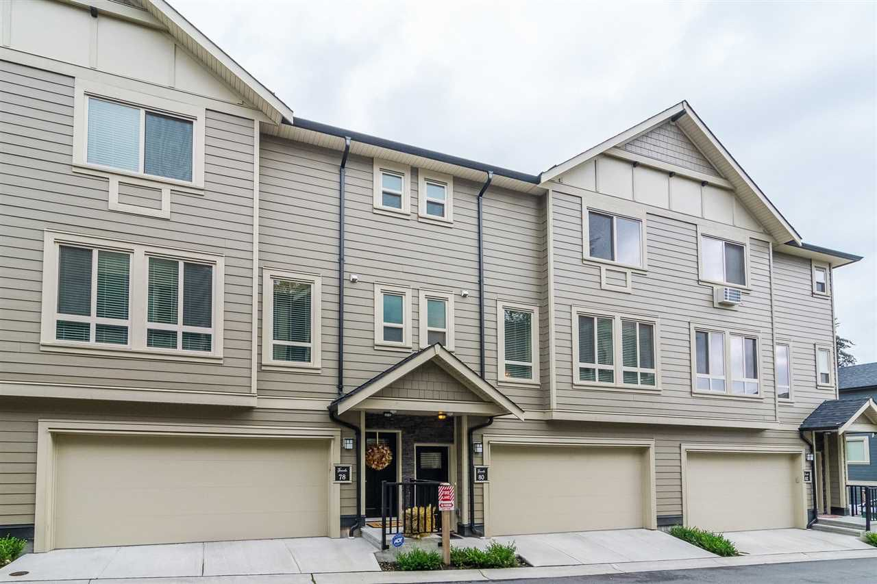 """Main Photo: 80 19913 70 Avenue in Langley: Willoughby Heights Townhouse for sale in """"The Brooks"""" : MLS®# R2332375"""