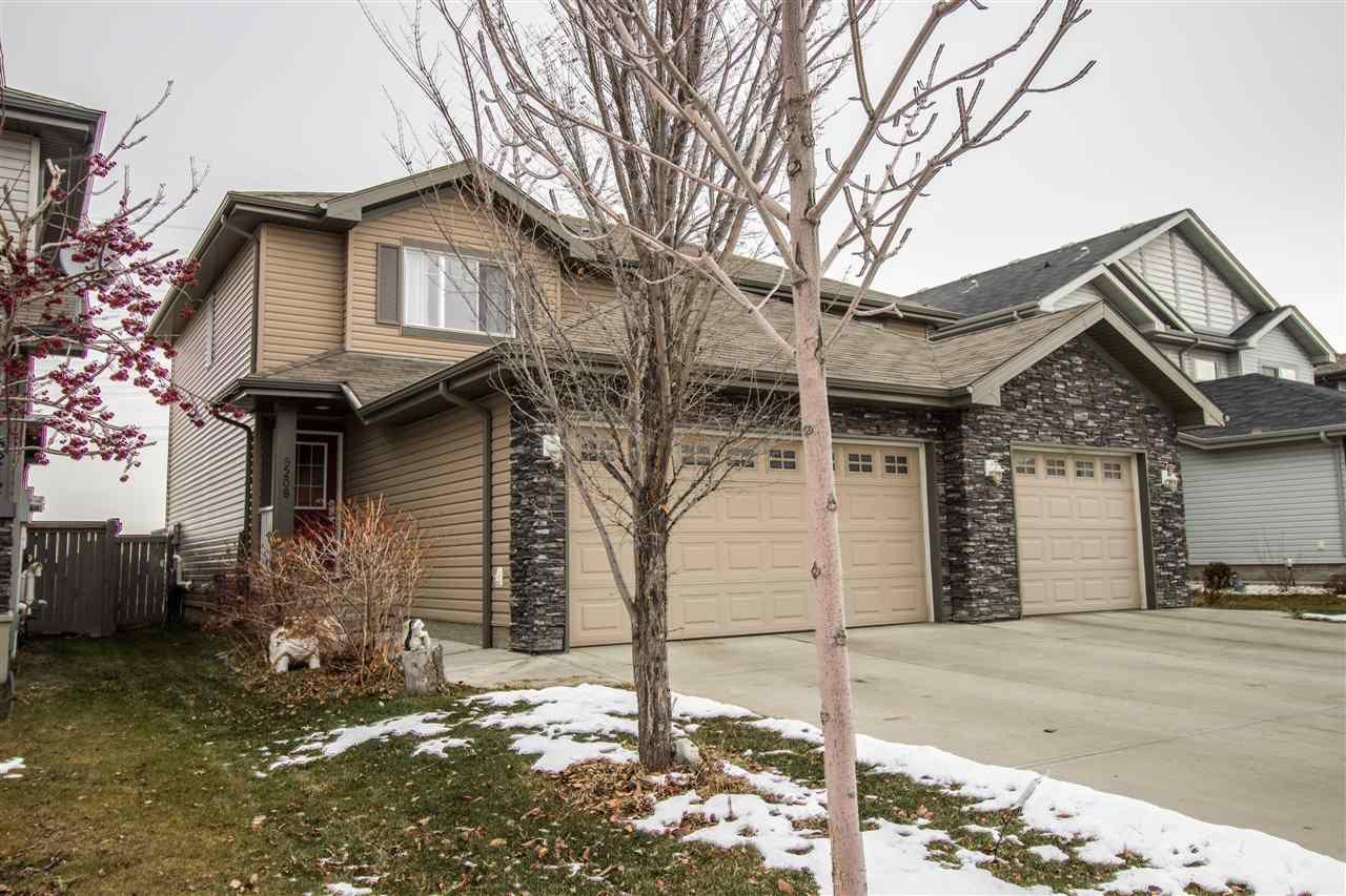 Main Photo: 5208 1A Avenue in Edmonton: Zone 53 House Half Duplex for sale : MLS®# E4141502