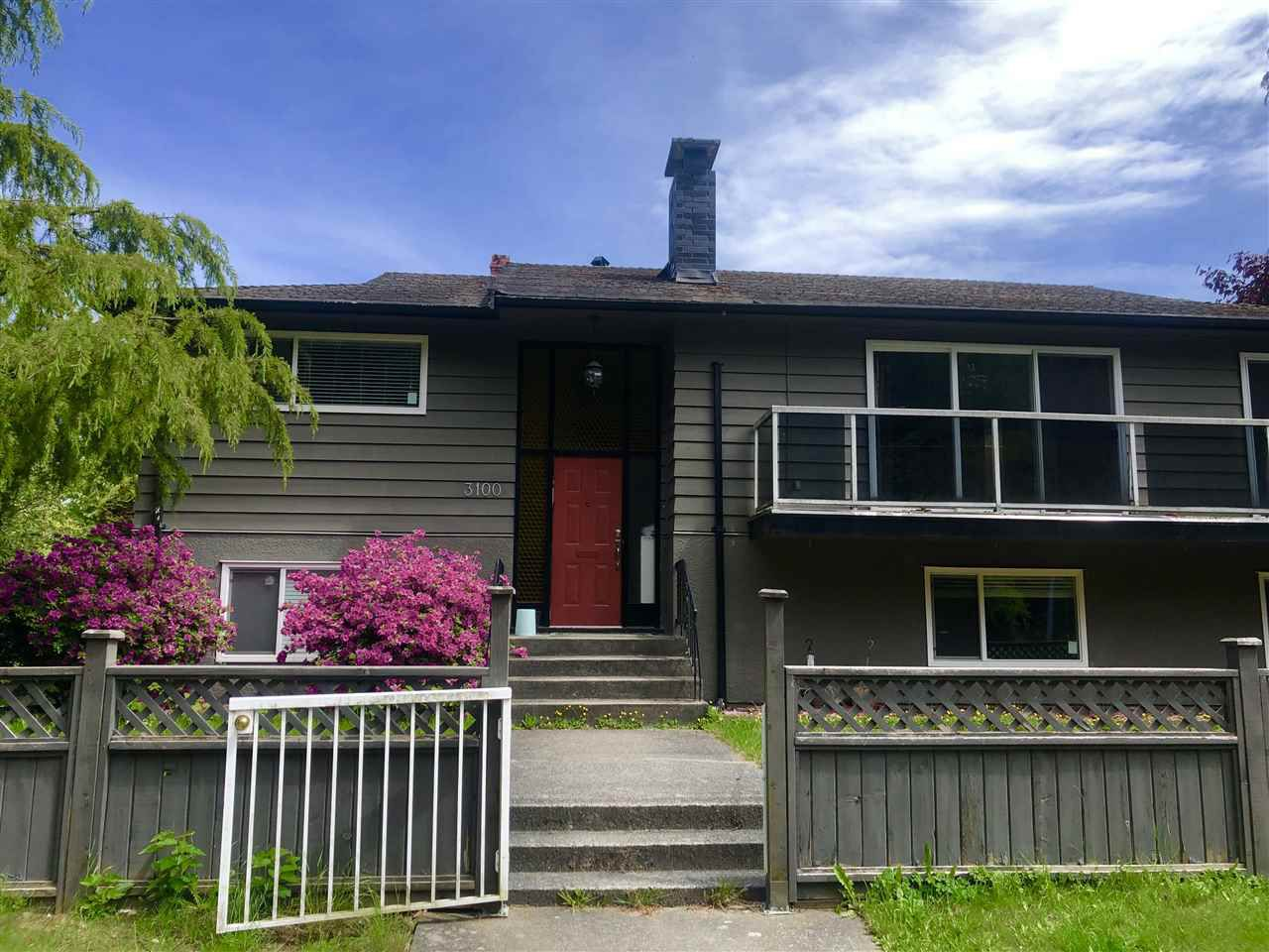 Main Photo: 3100 BLANCA Street in Vancouver: Point Grey House for sale (Vancouver West)  : MLS®# R2363651