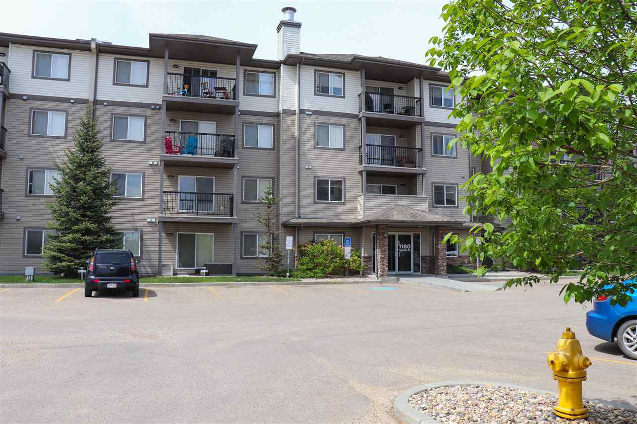 Main Photo: 334 1180 HYNDMAN Road in Edmonton: Zone 35 Condo for sale : MLS®# E4160789