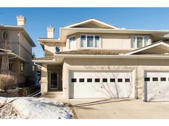 Main Photo: 39 EDGERIDGE Terrace NW in CALGARY: Edgemont Townhouse for sale (Calgary)  : MLS®# C3602223
