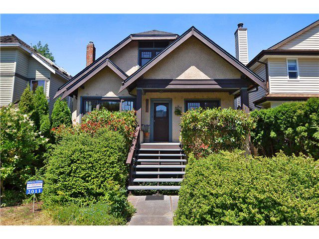 "Main Photo: 2011 CREELMAN Avenue in Vancouver: Kitsilano House for sale in ""KITS POINT"" (Vancouver West)  : MLS®# V1128858"