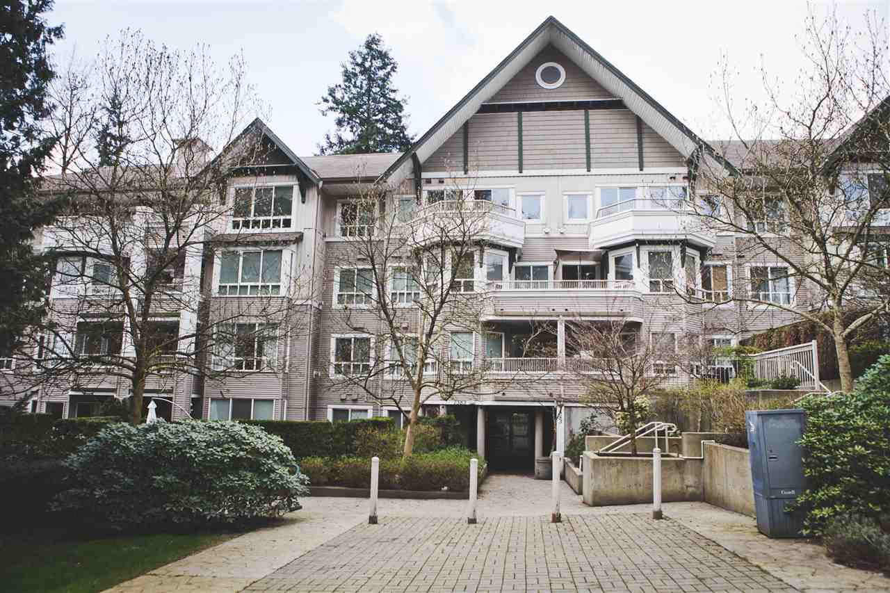 "Main Photo: 315 7383 GRIFFITHS Drive in Burnaby: Highgate Condo for sale in ""18 TREES"" (Burnaby South)  : MLS®# R2046585"