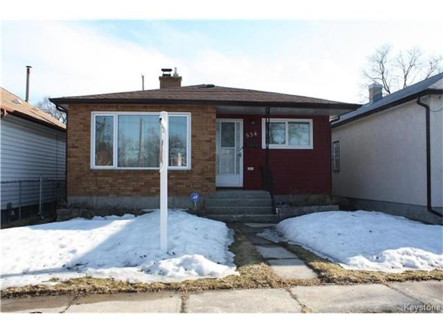 Main Photo: 534 Prosper Street in Winnipeg: Norwood Residential for sale (2B)  : MLS®# 1706443