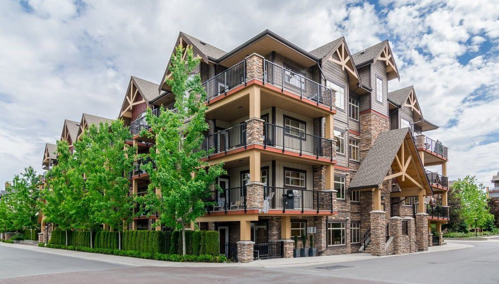 "Main Photo: 316 8328 207A Street in Langley: Willoughby Heights Condo for sale in ""Yorkson Creek Park"" : MLS®# R2150359"