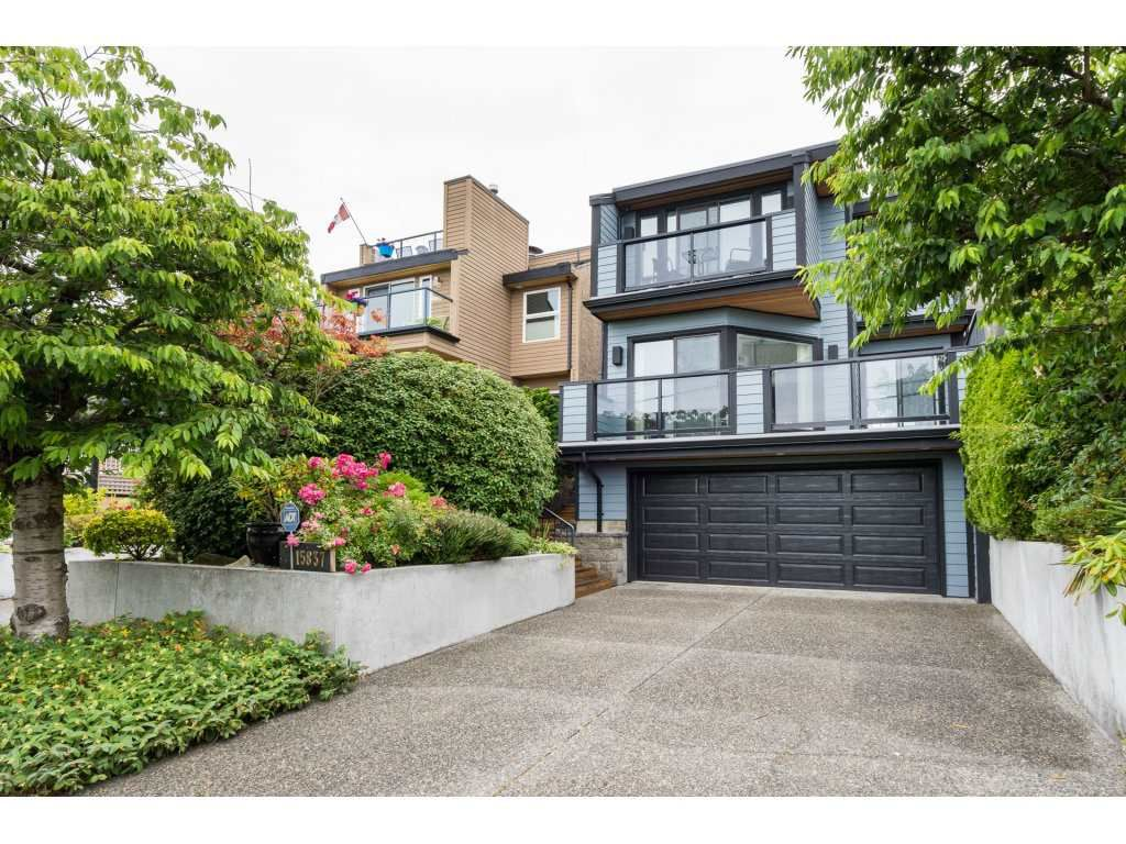 "Main Photo: 15837 COLUMBIA Avenue: White Rock House for sale in ""East Beach"" (South Surrey White Rock)  : MLS®# R2191085"