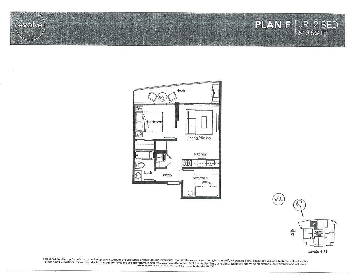 "Main Photo: 3102 13308 103A Avenue in Surrey: Whalley Condo for sale in ""EVOLVE"" (North Surrey)  : MLS®# R2261727"